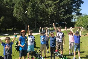 Junior golf at Craigielaw