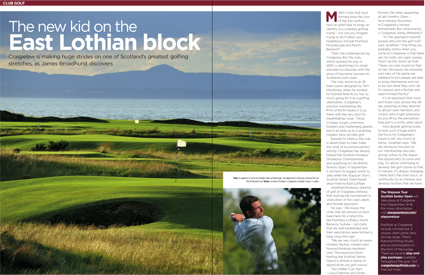 Scottish Senior Tour at Craigielaw - National Club Golfer