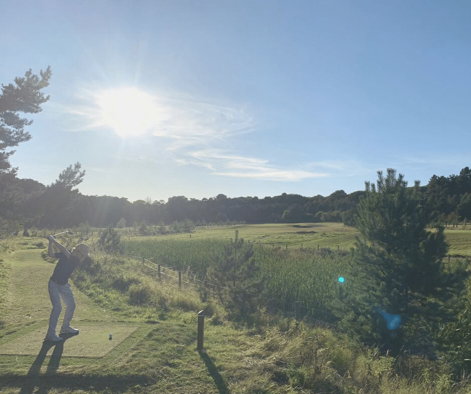 Craigielaw South Links Competition - sunshine