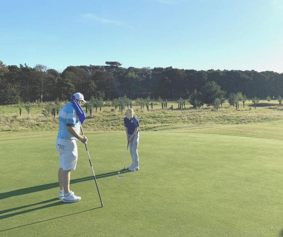 Craigielaw South Links Competition - putting